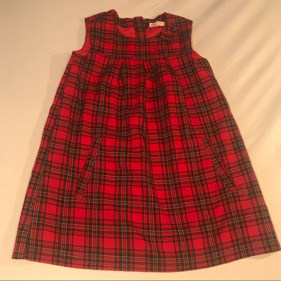8acf1abe1750 H&M Dresses | Clearance Hm Size 78 Girls Red Plaid Dress | Poshmark